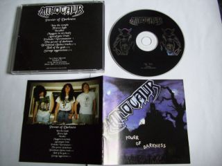 MINOTAUR  Power of Darkness  bootleg CD+bonustrack NOCTURNAL , CRUEL