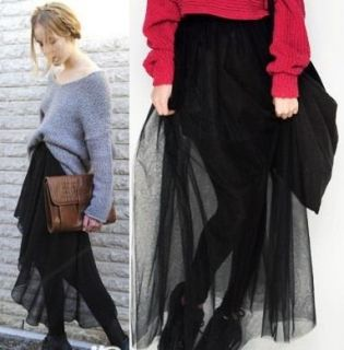 Chic Pick Transparent Long Skirt Blank Leggings AU 8 12