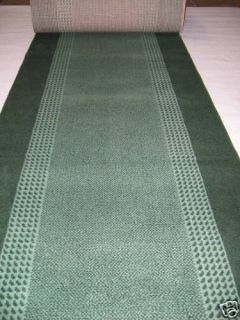 Teppich Läufer nach Maß grün ROWA 522 70 cm breit