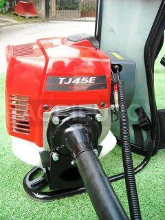 Scuotitore con gancio a scoppio a zaino con motore Kawasaki TJ 45 E