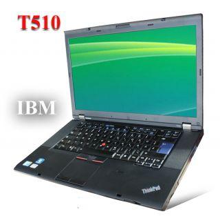 Thinkpad Lenovo T510 i5 2,67Ghz M560 eSATA DVD RW LED DISPLAY  IBM