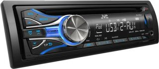 JVC KD R531 CD  Autoradio mit USB und iPod iPhone Steuerung blaue