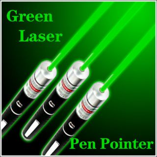 5mW 532nm Powerful Astronomy Green Beam Light Laser Pointer Pen Class