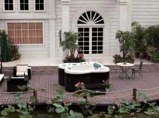 Outdoor Whirlpool, Aussenwhirlpool, Spa, Hot Tub 536