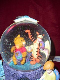 Disney Schneekugel Winnie Pooh, Ferkel, IAH, Tigger super schoen