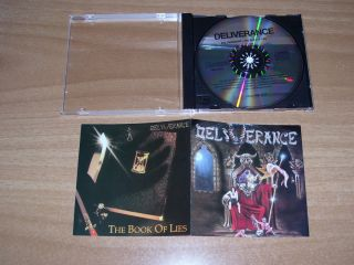 DELIVERANCE Evil Friendship & Book Of Lies CD Onslaught Death SS Satan