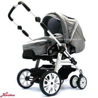 hartan racer baby kinderwagen buggy sportwagen beige. Black Bedroom Furniture Sets. Home Design Ideas