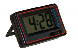 Schwarze Digital Jumbo Uhr Große Auto Uhr 12h Anzeige Uhr