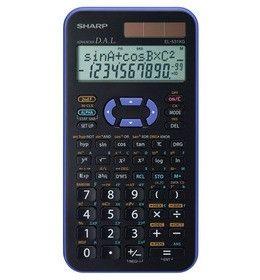 Sharp EL 531XG VL Schulrechner Blau / Schwarz
