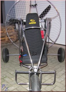 Takt Trike mit Honda Motor, Motorschirm  Edelstahl  ParaMotor  Trike