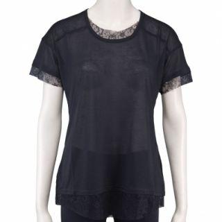 NEU Dolce & Gabbana Damen Bluse Shirt STC537 schwarz D G 38