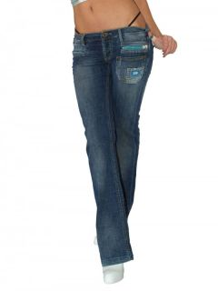 Sexy Damen Jeans Baggy Style Stretch Uded Destroyed Hot