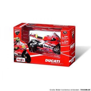 DUCATI Corse Maisto Modell MOTO GP Desmosedici GP 11 ROSSI # 46 1:18