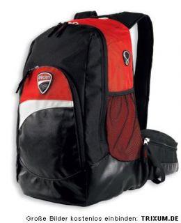 DUCATI CORSE ´12 Rucksack Backpack schwarz / rot / weiß NEU 2012
