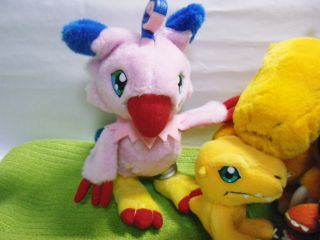 PLUSH DOLL DIGIMON Agumon Biyomon Patamon GREYMON