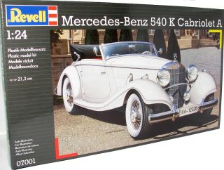 Revell 07001 Mercedes Benz 540K Cabriolet A 124