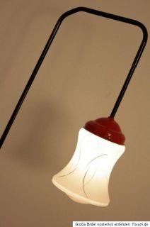 Buy Tesco Tripod Wooden Floor Lamp Dark Wood Black Shade