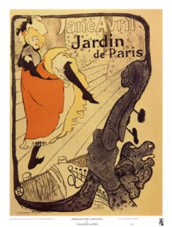 Jardin de Paris Posters by Henri de Toulouse Lautrec