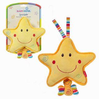 Wunderschöne Stern Spieluhr von Baby Nova mit LA LE LU