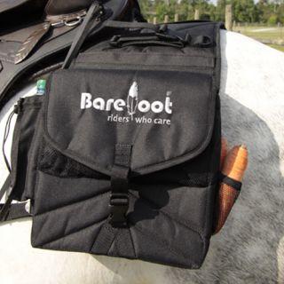 Barefoot Satteltaschen Trail 2 in 1, Satteltasche, Packtasche, schwarz