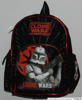 Star Wars Clone Wars Trooper Rucksack Turnbeutel schwarz