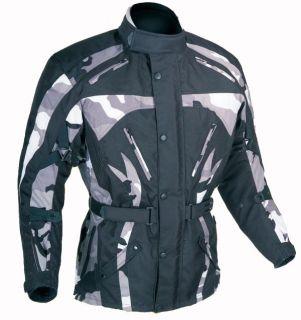 Motorrad Jacke Motorradjacke Camouflage Gr.L bis XXXL
