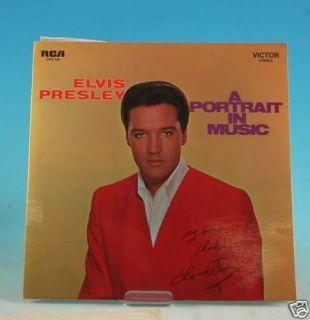 LP  Elvis Presley   Porträt in Music  RCA,558