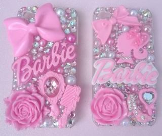 Barbie Doll Pink Shoes Mirror Logos Rose Design Ur Own Case Fits i