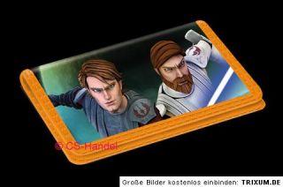 Star Wars Clone Wars Geldbeutel Geldbörse Anakin & Obi Wan