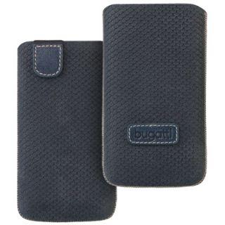 Bugatti Perfect Scale blue f Apple iPhone 5 Tasche Case Leder