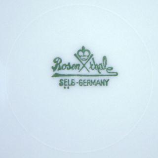 Antiker Rosenthal Selb Bavaria Sammelteller um 1950