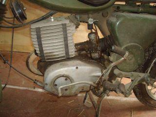 NVA MZ TS 250 / 1A Originalzustand! Scheunenfund DDR Armee