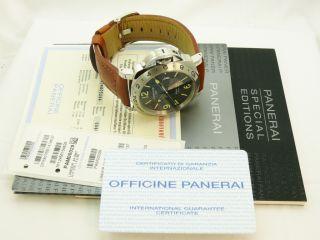 Panerai Luminor GMT PAM00029 Ref. OP6807 Box & Papiere