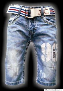 Super Coole Bermuda Jeans Junge JNS LX5006 Gr. 8 16 neu 2012