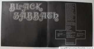 LP Black Sabbath   Black Sabbath Vertigo Swirl Deutschland 1970
