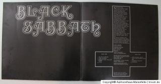 LP Black Sabbath   Black Sabbath Vertigo Swirl Deutschland 1970