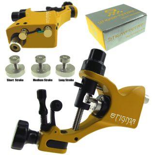 Hergestellt in ChinaYellow Rotary Tattoo Machine Gun Stigma V2 Style