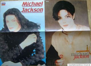 MICHAEL JACKSON ~~~ POSTER SAMMLUNG / COLLECTION ~~~ 24 Poster