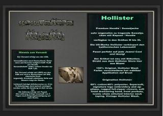 Hollister by Abercrombie Hoodie / Sweatjacke Gr. M bis XL NEU