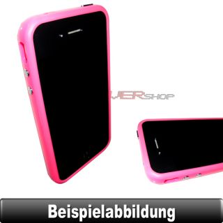 BUMPER Rosa / Pink Case Schutz Hülle Cover Tasche Silikon TPU für