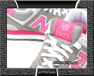 2012 New Balance Wmns WL574GTW Grey Brown Pink White US 6~8.5 Suede