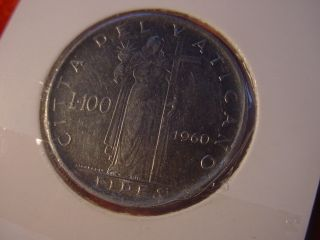 100 CITTA DEL VATICANO IOANNES XXIII P.M. AN.II 1960 581