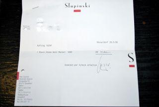 Original Rechnung★LuXus ♛ Slupinski Blackglama ♛ 17800