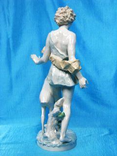 Hutschenreuther Figur 52 cm Diana mit RehTutter Figure Figurine um