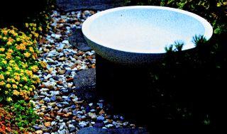 Wasserspiel SAO PAULO Komplett Set Fuß,Schale,LED Beleuchtung,Pumpe