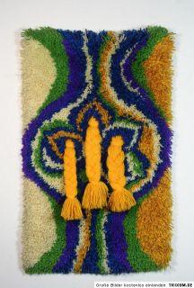 70er pop art WANDTEPPICH wandbehang panton pop ära
