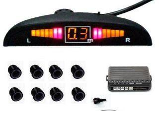 EINPARKHILFE 8 SENSOREN mit LED Display 602C