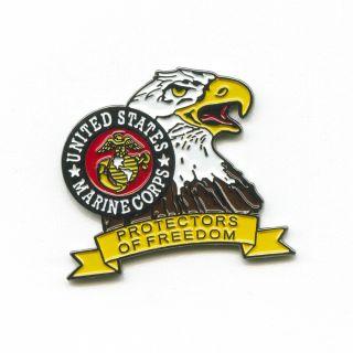 Marine Corps US Marines Adler USA Badge Pin Pins Anstecker 589