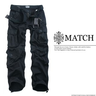 Neu Herren Militär lässig Cargo Hose pants/Trousers Farben W30 W36
