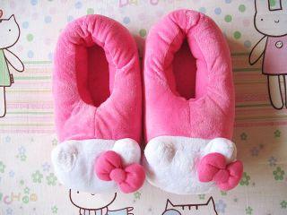 Neu Hello Kitty Hausschuhe Pantoffel Gr.37~40 Pink